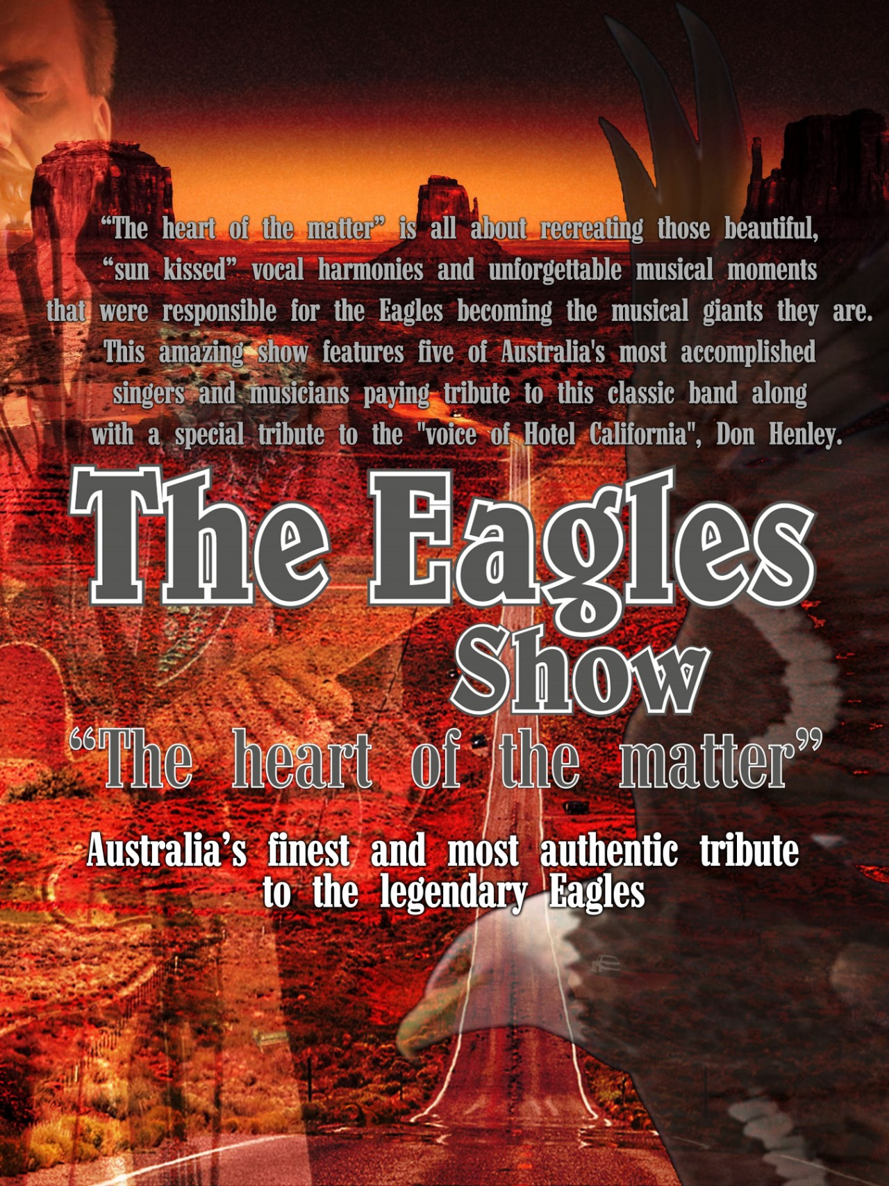 The Eagles Show Poster